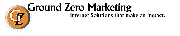 Ground Zero Marketing - Web Design